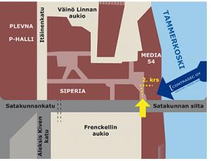 Satakunnankatu 18 - IT-palvelut - Konesali - Tampere [ Contrasec